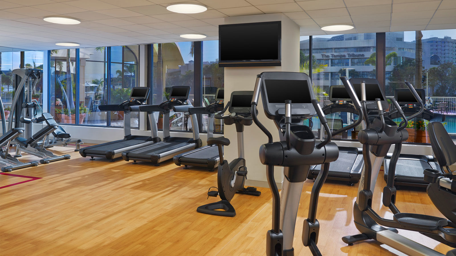 Sheraton Tampa Riverwalk - Fitness Center